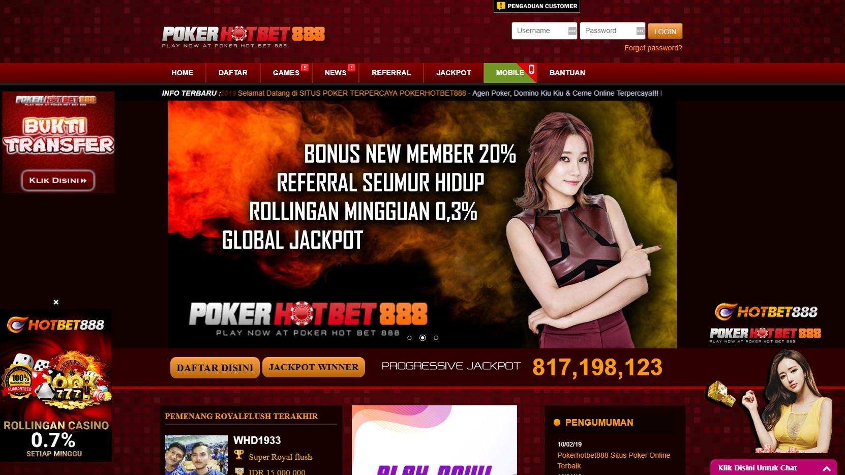 Situs Bermain IDN Poker88 Dengan Keuntungan Berlimpah